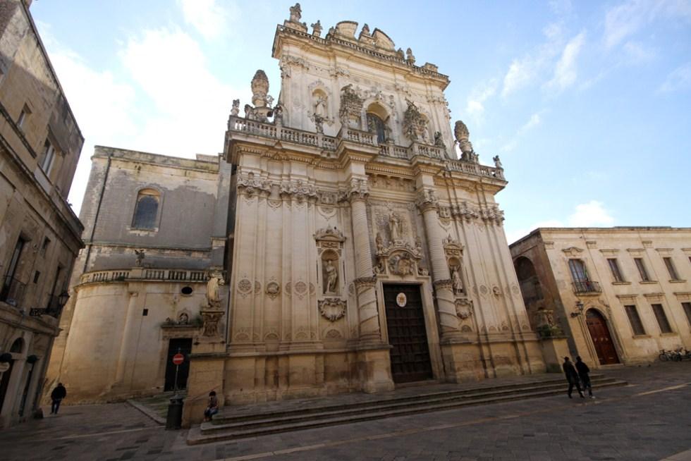 Chiesa di san giovanni battista al rosario lecce lecce - Architetto lecce ...