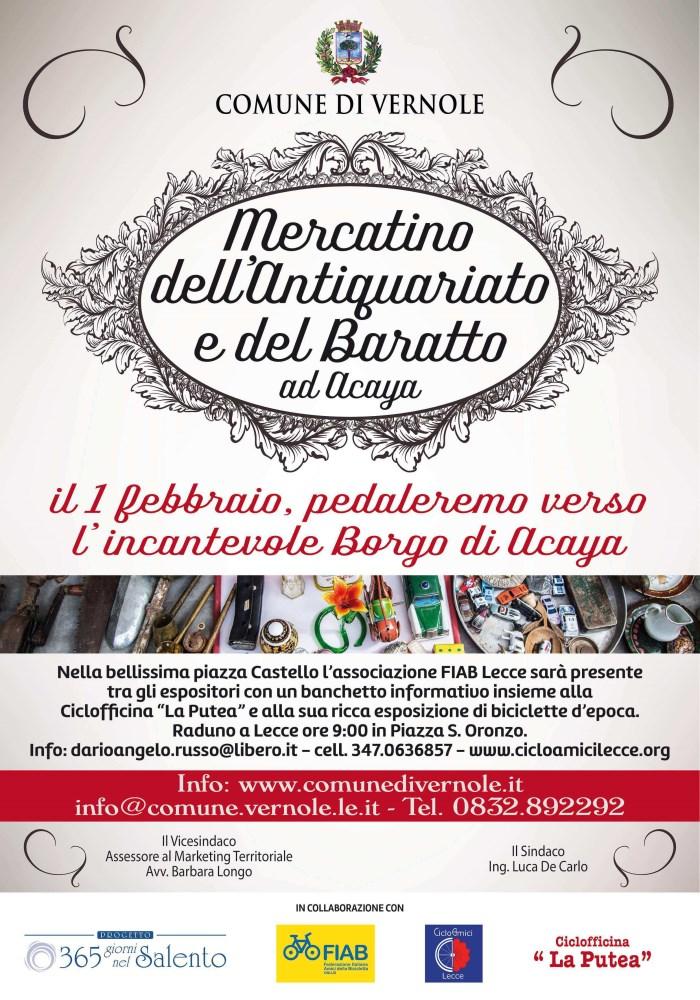 Il mercatino dell 39 antiquariato e del baratto nel borgo di - Mercatino dell usato lecce ...