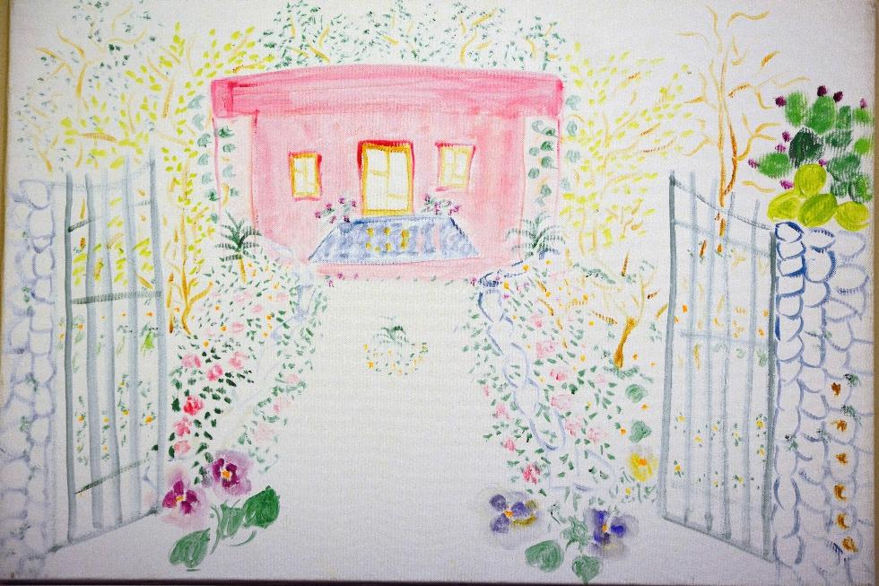 Mostra i colori della casa rosa di inella tra lecce e for Mostra della casa moderna udine